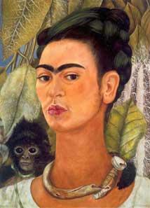 Frida Kalo selfportrait